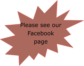 Please see our Facebook page